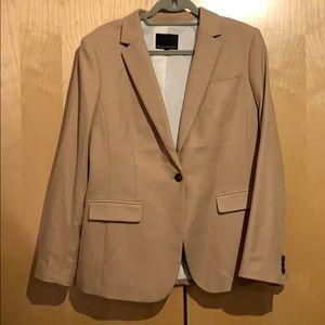 Never worn! Camel Banana Republic blazer